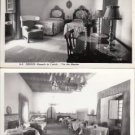 BZ021.Vintage Postcards x 2.Obidos, Portugal. Castle Inn