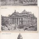 BZ061.Vintage Postcards x 3.Buildings in Brussels. Belgium