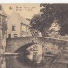 CJ19.Vintage Postcard. Pont du Cheval, Brugge, Belgium.