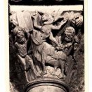 CO15. Postcard.  The Basilica Capital. The Golden Calf. Vezelay, (Yvonne) France