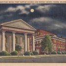 CL98.Vintage US Postcard. First Baptist Church, Columbia. South Carolina