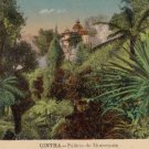 CG29.Vintage Postcard. Palace and gardens of Monserrate. Cintra, Portugal
