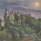 CL12.Vintage Postcard. Sid's Oil Paintings. Chateau de Langeais. France