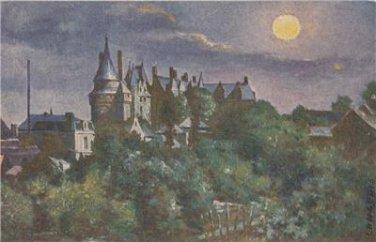 CL12.Vintage Postcard. Sid's Oil Paintings. Chateau de Langeais. France