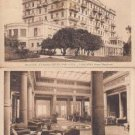 BZ153.Vintage Postcards x 2. Majestic and Grand Hotel. Pallanza.Italy