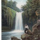 CM20.Vintage Portuguese Postcard. Madeira, Sao Vicente waterfall.Portugal