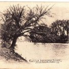 CO25.Vintage US Undivided Postcard.Little Arkansas River.Riverside Park.Wichita