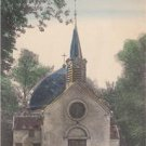 CL30.Vintage French Postcard.Chapel at Clichy-sous-Bois.