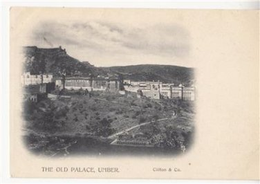 CM59.Vintage Undivided Postcard.The Old Palace, Umber. India.