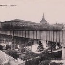 CD90.Vintage Postcard.The Viaduct. Madrid. Spain.