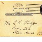 CH45. Vintage US Prepaid Postcard. Addressed to State House, Boston.