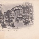 CO66.Vintage French Postcard. La Porte Saint Martin. Paris, France