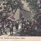 CK19.Vintage Postcard.Barcelona, Spain. Rambla de las Flores y Belen.