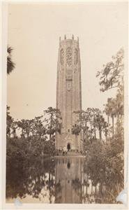 CM03. Vintage Postcard. Bok Singing Tower. Lake Wales. Pinella county. Florida