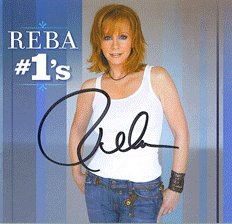 RARE Autographed REBA McENTIRE #1's Signed CD