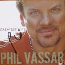 Phil Vassar Autographed GREATEST HITS CD Signed