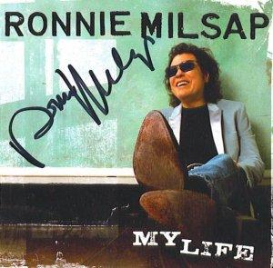 RONNIE MILSAP AUTOGRAPHED CD SIGNED HOF