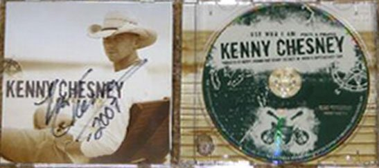 AUTOGRAPHED Kenny Chesney - Just Who I am : Poets & Pirates New CD