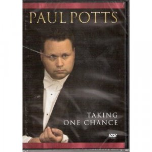 Paul Potts Taking One Chance DVD New RARE