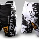 MMA Fearless Black Shorts Sparring Trunks Boxing Cage Shorts