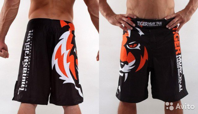 MMA Tiger Fight Muai Thai Shorts Grappling Boxing Shorts