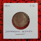 1941 F-12 Nickel Jefferson