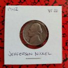 1942 VF-20 Nickel Jefferson