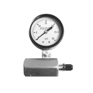 Pasco 1427 30-Pound Gas Test Gauge Assembly New