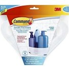 Command Corner Caddy with Water-Resistant Strips (BATH12-ES) New