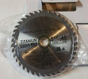 "Concord Blades WCB0538T040HP 5 3/8"" 40 Teeth TCT General Purpose Wood Saw Blade"