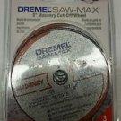 Dremel SM520c 3-Inch Masonry Cut-Off Wheel