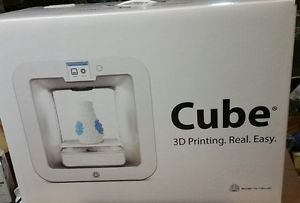 3D Systems Cube 3rd Generation Wireless 3D Printer GREY 392200 FREE SHIPPING!!!