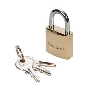 Silverline 304221 1-3/16-Inch Brass Padlock