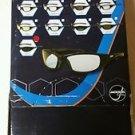 Jackson 3013860 KC 20545  Hellraiser Safety Glasses Black Frame IR 5.0  12 Pairs