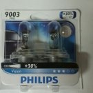 Philips 9003 Vision Upgrade Headlight Bulb (Pack of 2) PBR2