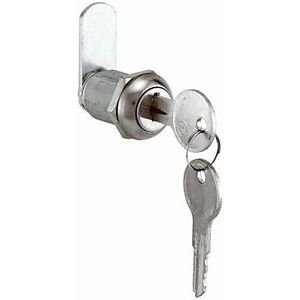 Prime-Line Products U 9943 Drawer & Cabinet Lock, 7/8 in., Diecast, Stainless St