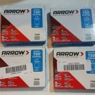 Arrow 508 Genuine T50 1/2-Inch Staples, 1,250-Pack, Free Shipping 4-pack