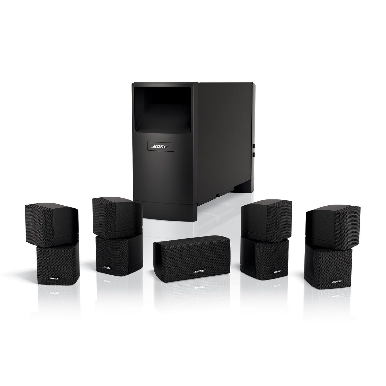 Bose Acoustimass 10 Series IV 5.1 Channel Entertainment Speaker System