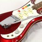 1960 Teisco Spectrum5 Metallic Red Electric Guitar Free Shipping
