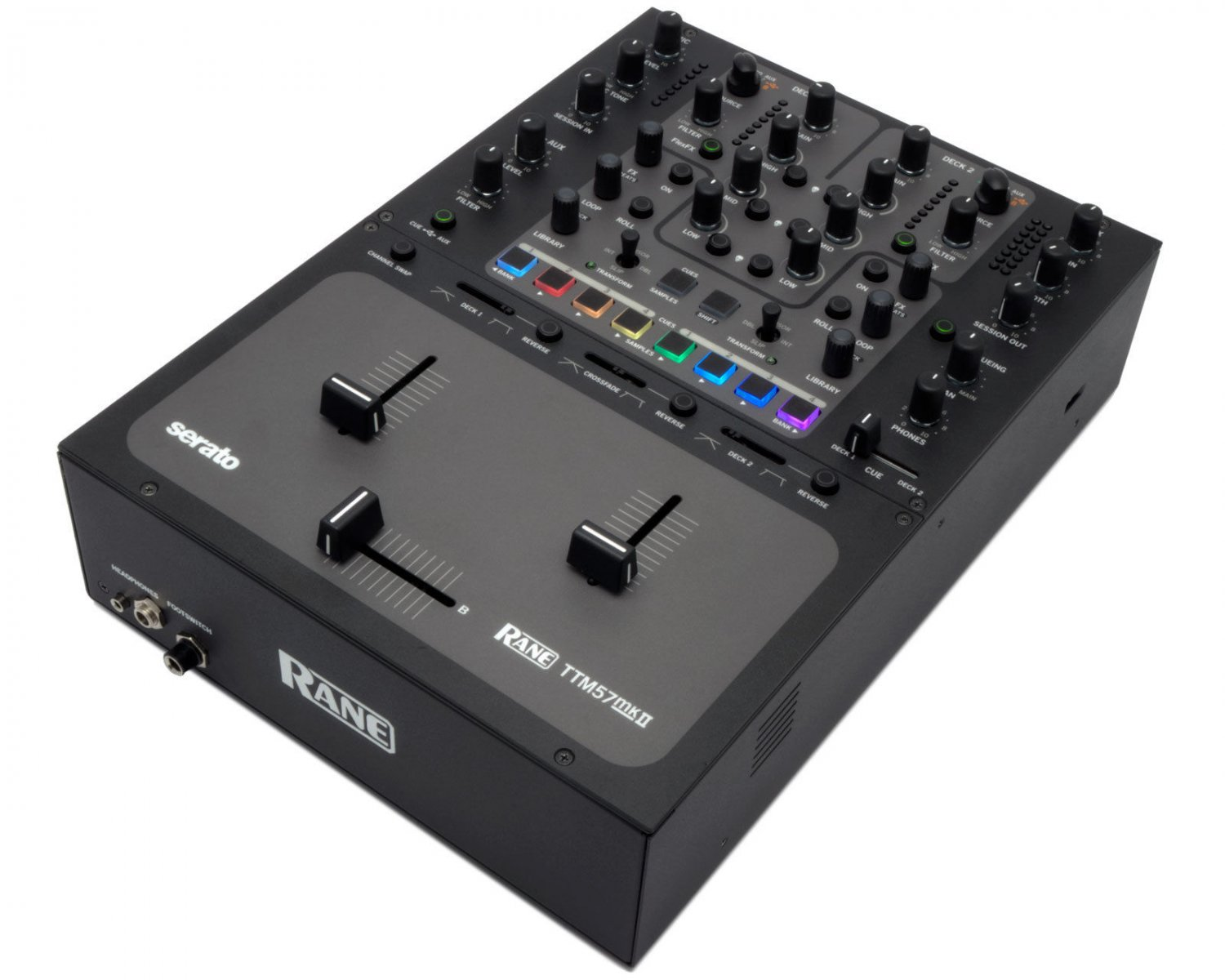 Rane TTM57SL MKII DJ Mixer with Serato Scratch LIVE Software