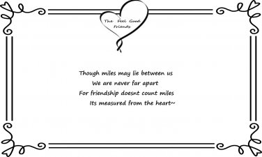 Long Distant Friendship Quote