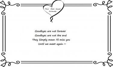 Goodbye Quote
