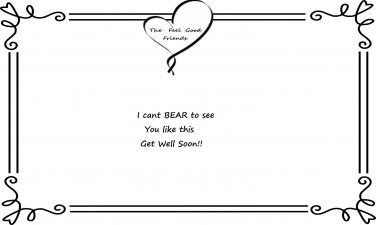 Get well Quote (used with Bears)