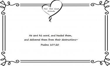 Healing Bible verse