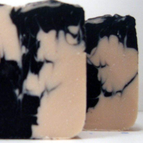 Black Cashmere Type Herbal Soap 5 oz. bar
