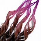 "18inch ""Pixie Tip"" 100% Human Hair Rainbow Clip in Ombre Extensions"