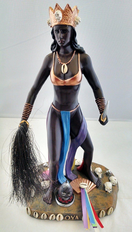 12 Inch Statue Orisha OYA Santeria Lucumi Estatua Yoruba Saint
