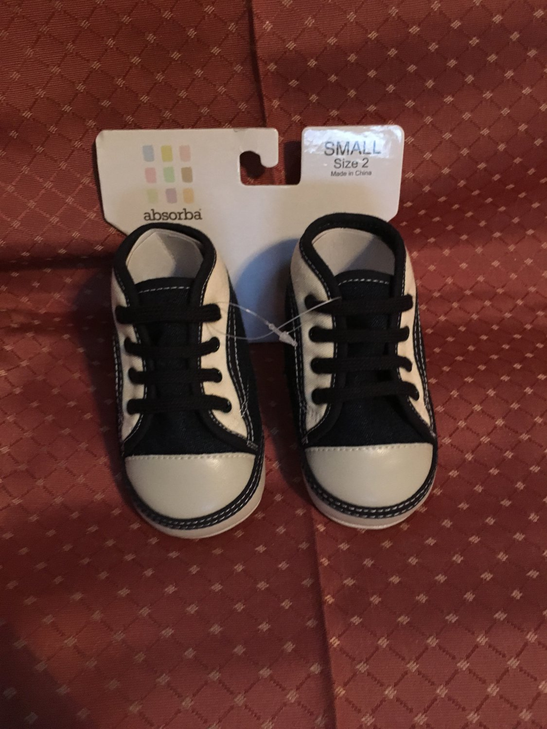 Absorba Boys Crib Shoes