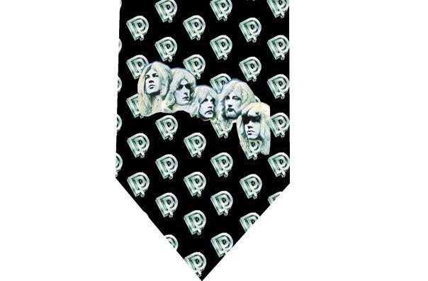 Deep Purple Tie - model 3