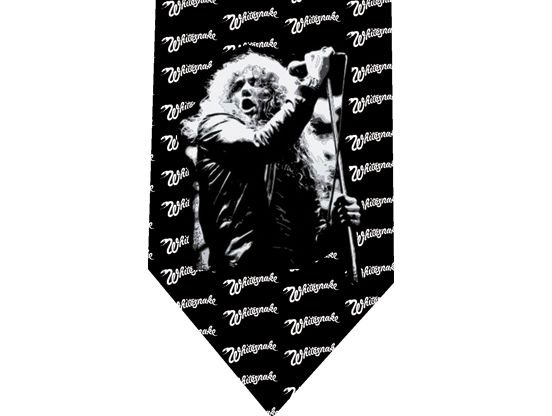 Whitesnake Tie - Model 4